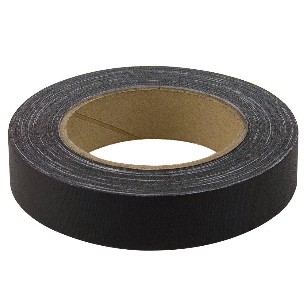 BookGuard Premium Cloth Book Binding Repair Tape 1''W x 30yd Roll (Black)