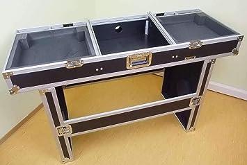 TEGO PRO 27163 - Mesa de road para 2 tocadiscos y mesa de mezclas ...