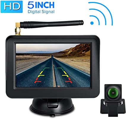 iPad or Andriod Devices Vehicles WiFi Backup Camera with Night Vision // IP67 Waterproof for iPhone HD 720p Backup Camera for car AUTOLOVER Wireless Backup Camera