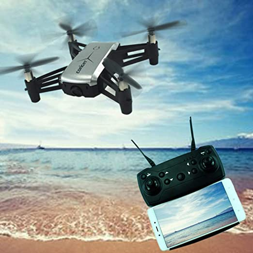 ERKEJI Drone Control Remoto Quadcopter Juguete avión 720P ...