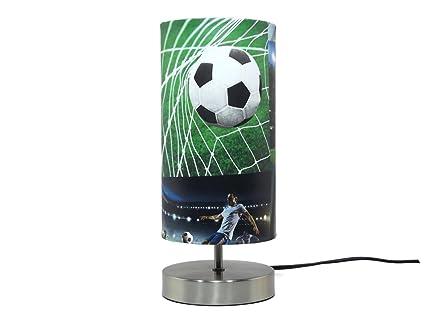 Fussball Lampe Lampenschirm Nachttisch Schreibtisch Lampe