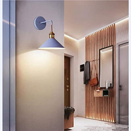 MKKM Home Decoration Wall Lamp Hotel Cafe Restaurant LampsModern Creative Simple Warm Bedside Balcony Stairs Aisle