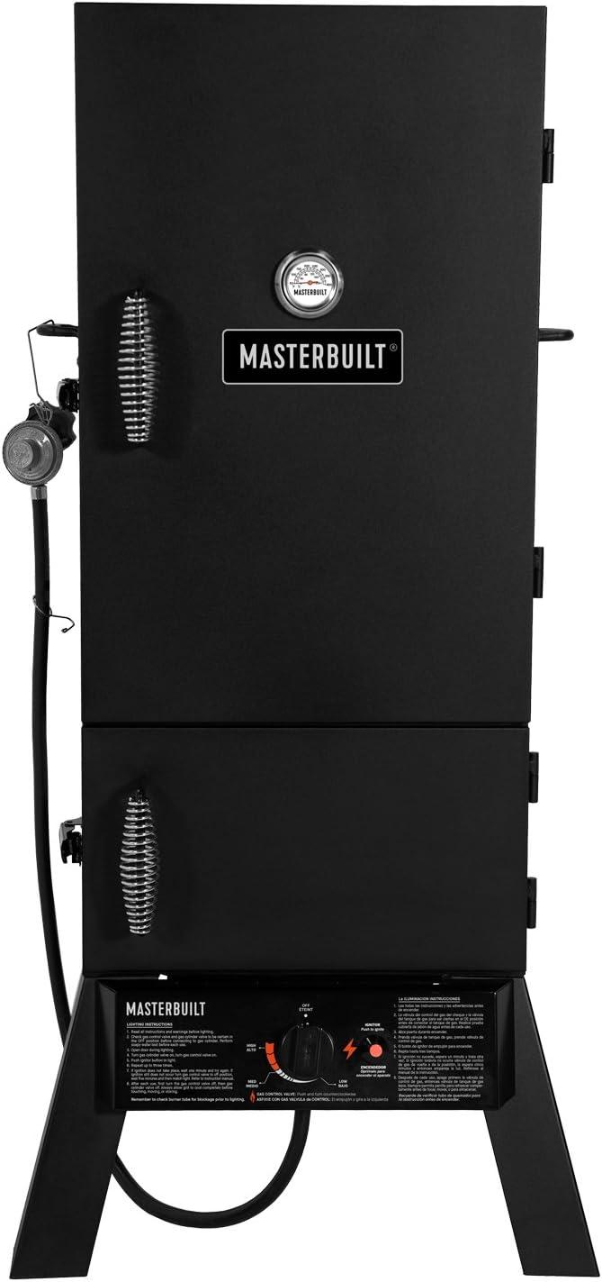 Best Beginner Propane: Masterbuilt MB20052318 Propane Smoker-MPS 230S