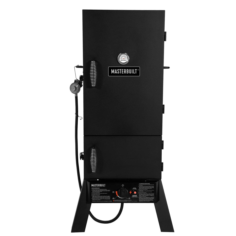 Masterbuilt MB20052318 MPS 230S Propane Smoker, Black