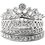 Deal Imperial Crown Ring Set