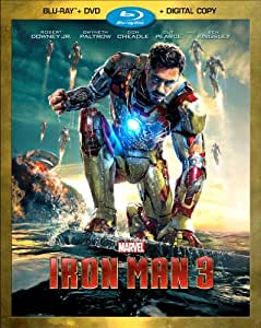 Iron Man 3 (Two-Disc Combo Pack + Digital Copy) [Blu-ray + DVD + Digital Copy]