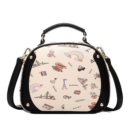 079b8d23e50c Amazon.com: XXPBDT ZMM Retro Packet Ms. Messenger Bag Cute Bags ...
