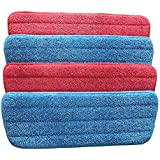Stuff Microfiber Spray Mop ReplacementCleaning Pad for Wet/Dry Mops Compatible with Floor Care System (Pack of 4) 。 By Pan source