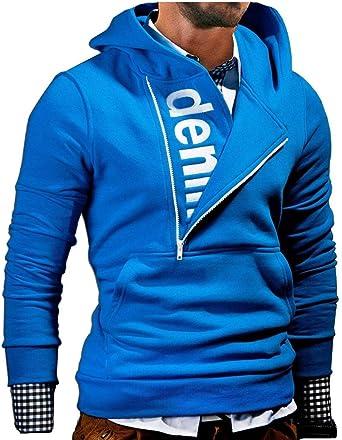 MT Styles Kapuzenpullover mit Zipper Hoodie Pullover S 111