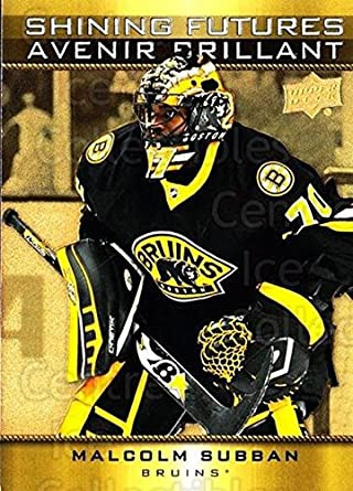 Amazon Com Ci Malcolm Subban Hockey Card 2015 16 Tim Hortons