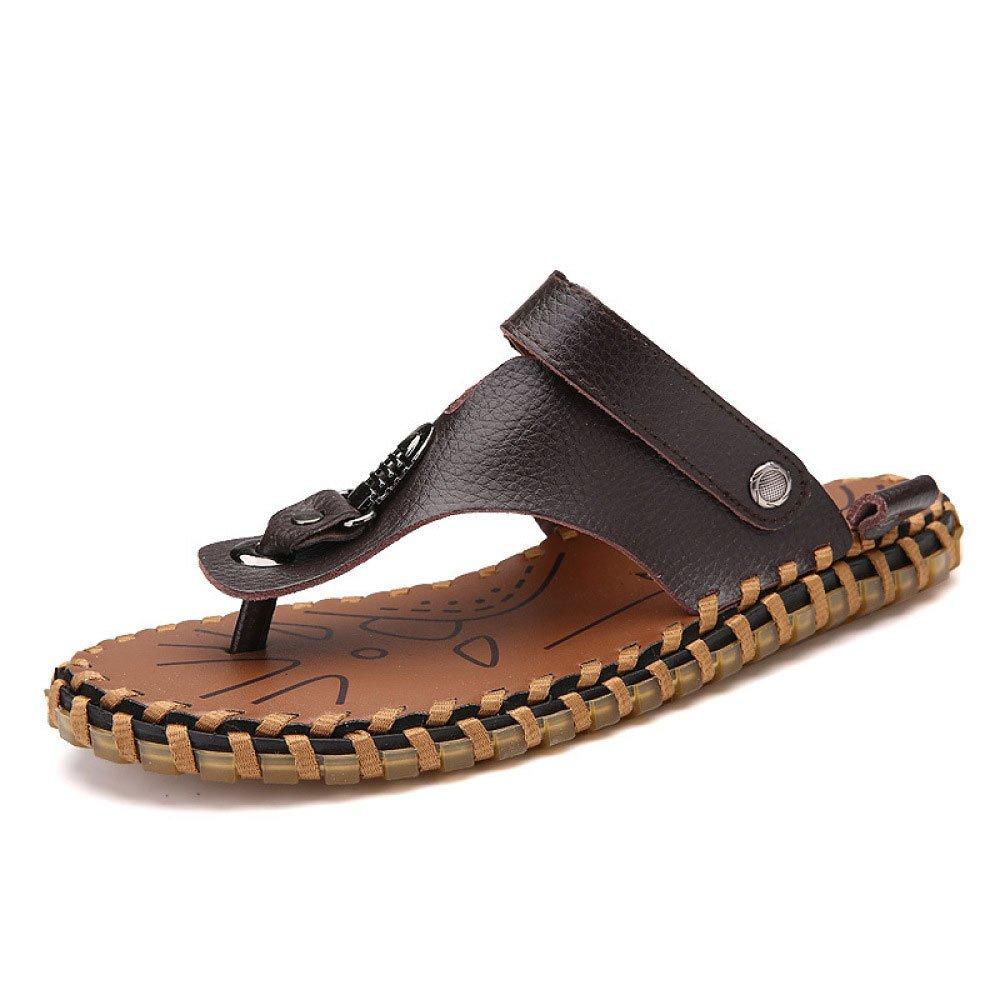 Sandalias De Los Hombres Zapatillas De Verano Zapatos Casuales 42 EU Brown