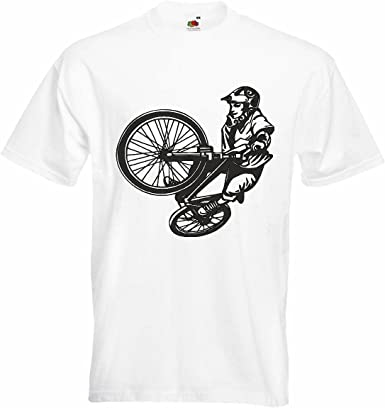 T-Shirt Camiseta Remera BMX Freestyle Motocross Bicicleta Calle ...