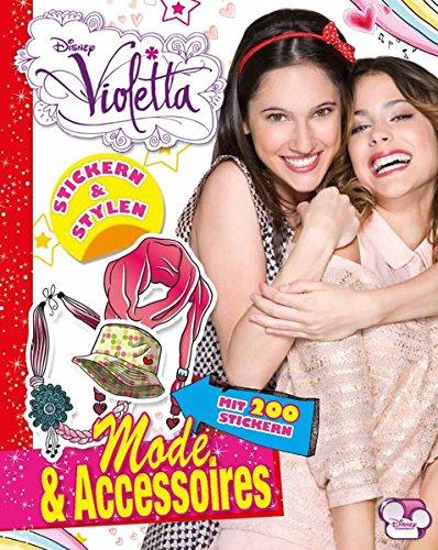 Disney Violetta - Mode & Acessoires: Stickern & Stylen