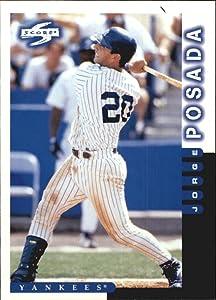 1998 Score Baseball Card #232 Jorge Posada