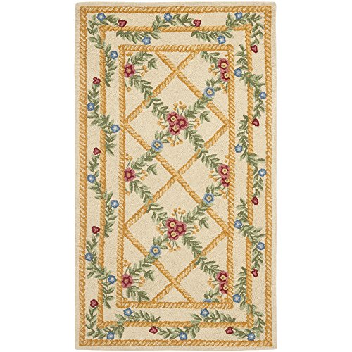 """UPC 683726028888, Safavieh Chelsea Collection HK62A Hand-Hooked Ivory Premium Wool Area Rug (2'9"""" x 4'9"""")"""