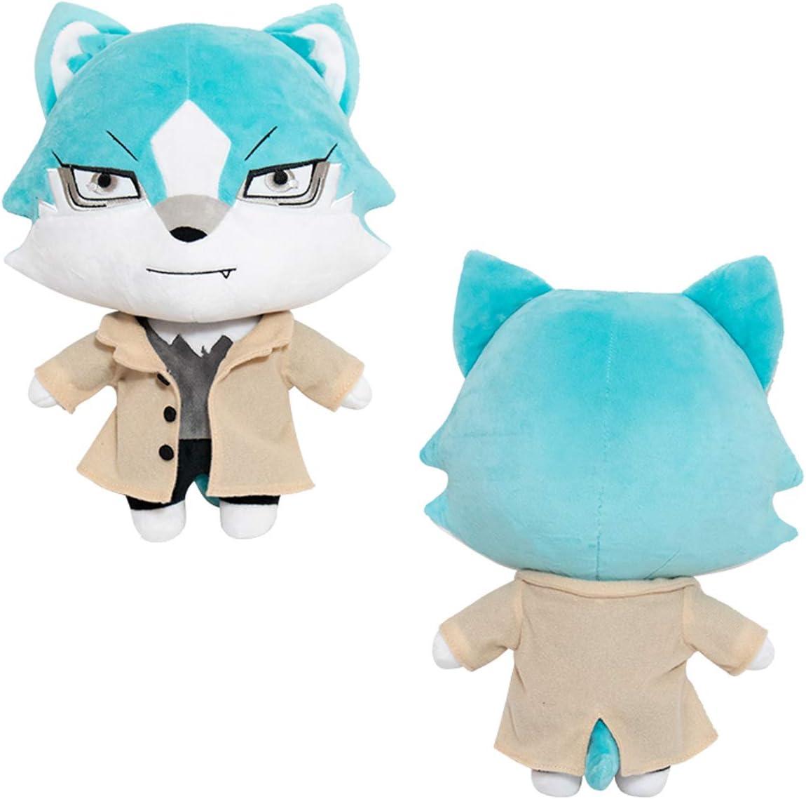 Enhopty Animal Plush Doll Kagemori Michiru Ogami Shirou Stuffed Anime Plush Kawaii Toys Nap Pillow Home Sofa Decoration 14.1in