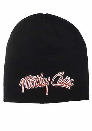 Ski Beanie Cap Motley Crue Band Cap