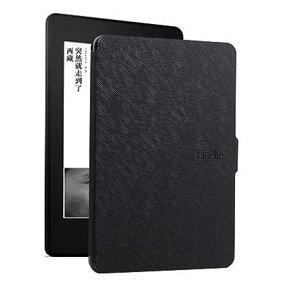 DATOUDATOU E-Reader Funda para Kindle 8 Generación Piel Ebook Hard ...