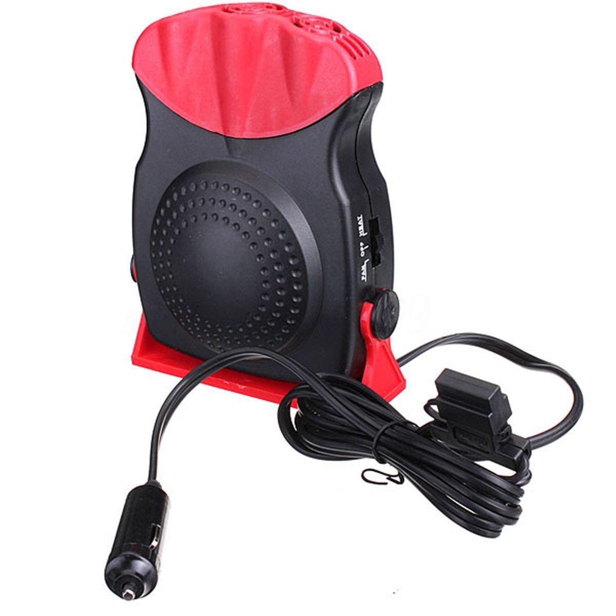 TargetEvo 24V Portable Car Heating Heater Fan Vehicle Defroster Demister