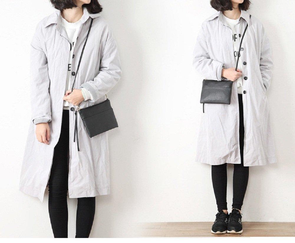 Urmiss Luxury Soft PU Leather Mini Crossbody Single Shoulder Bag Cellphone Pouch Wallet Case for iPhone 8 7 6 5 4