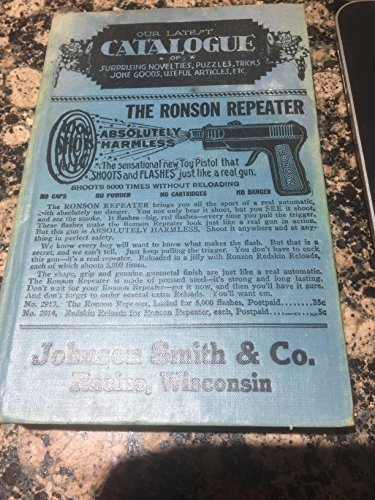 1929 Johnson Smith & Co. Catalogue Surprising Novelties