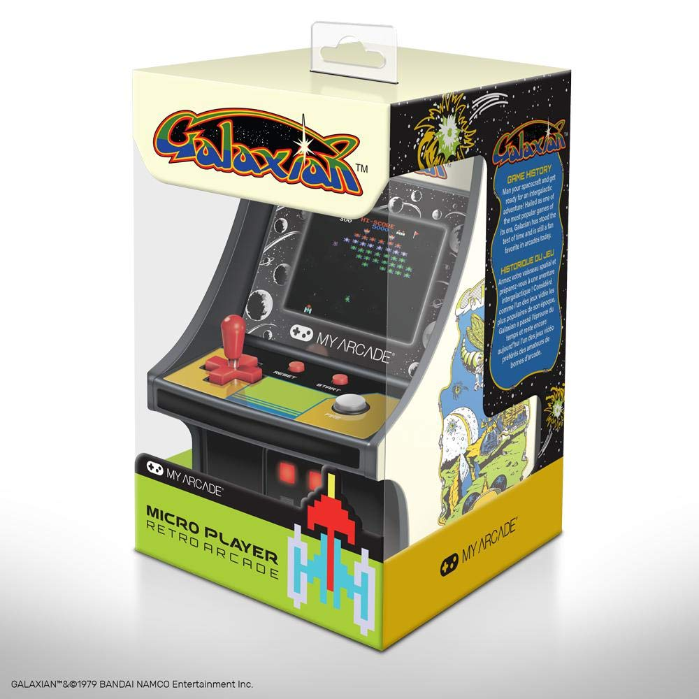 My Arcade GALAXIAN Micro Player 6'' Collectable Arcade