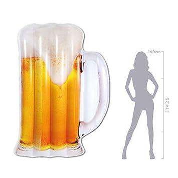 ZHANGJIANJUN 180 cm Hinchable Gigante de Copa de Cerveza ...