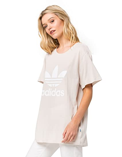 d08103da adidas Womens Boyfriend Trefoil T-Shirt at Amazon Women's Clothing store: