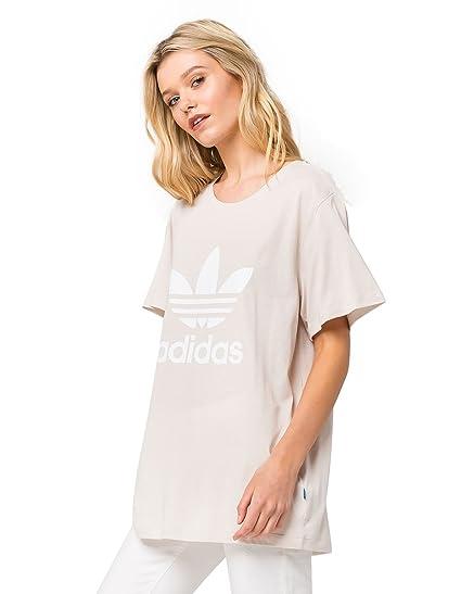 08ad1e2f9710f adidas Womens Boyfriend Trefoil T-Shirt at Amazon Women's Clothing store: