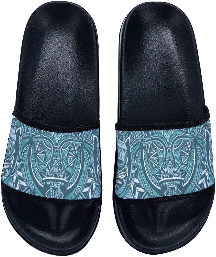 Summer Geometry Non-Slip Shower Slippers Soft Sole Pool Shoes Unisex Adult Sandals Bathroom Slipper Unisex Child Slipper