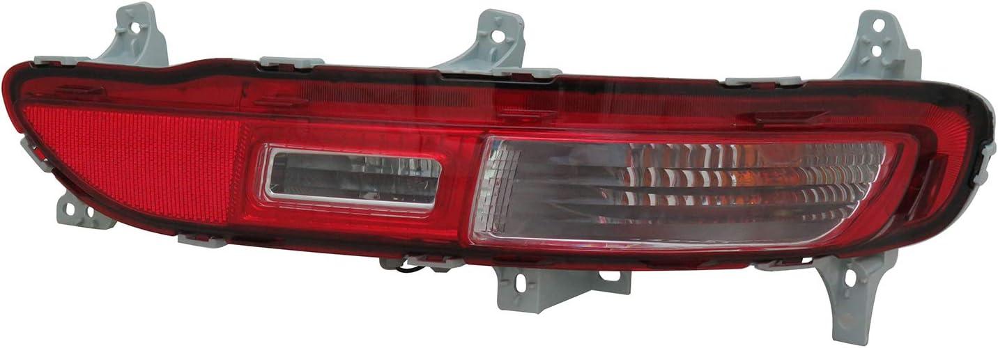 Back Up Light Assembly No variation Multiple Manufactures KI2883100N Standard