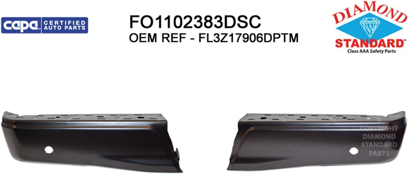 Multiple Manufactures FO1102383DSC Standard Step Bumper Face Bar No variation