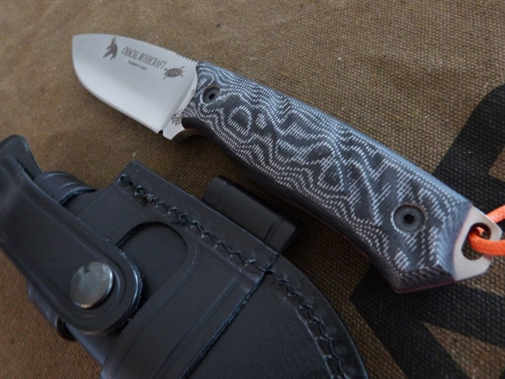 Amazon.com: JV CDA cuchillo modelo Chacal Bushcraft: Sports ...