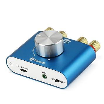 WINGONEER TPA3110 30W * 2 Dos canales mini estéreo de audio inalámbrico Bluetooth Amplificador de Señal Digital Power Amp para Tablet PC Portátiles ...