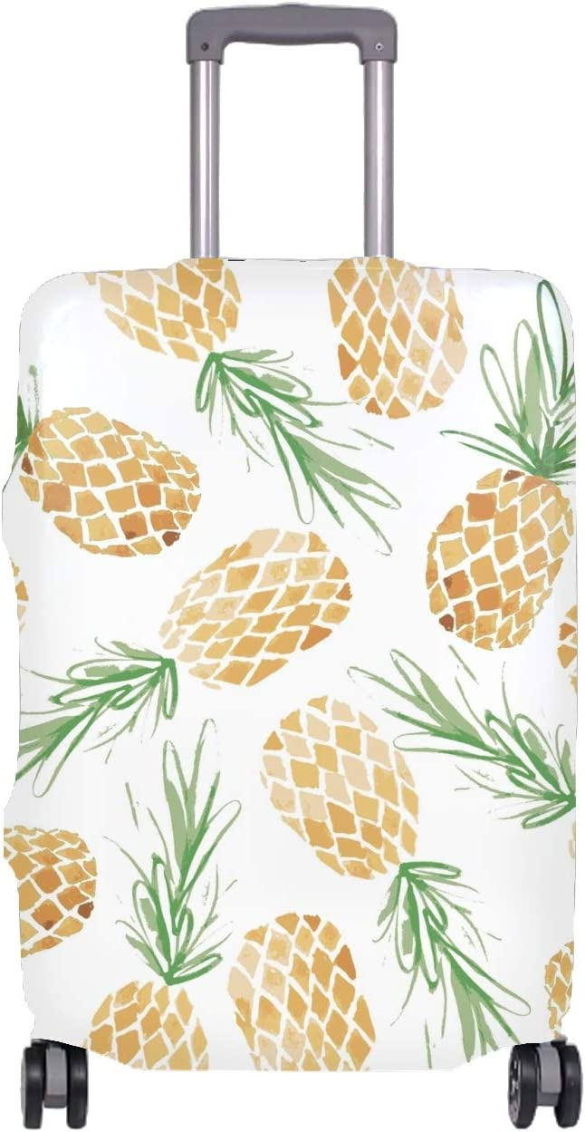 Travel Luggage Cover Suitcase Protector Patern Pineple Baggage Covers