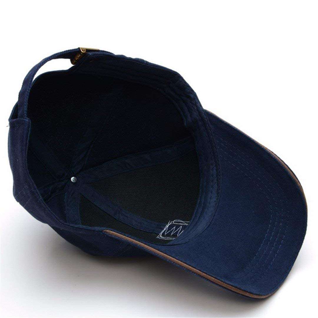 ec46a9cab Buy Handcuffs Unisex Cotton Adjustable Baseball Cap (Blue) Online at Low  Prices in India - Amazon.in