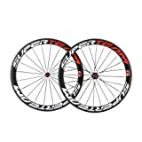Superteam Carbon Rims 700c clincher Bike Wheelset 50mm Clincher Road wheels