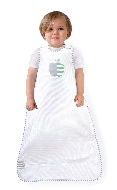 Love To Dream Nuzzlin - Saco de dormir (muselina de nueva generación, 100% algodón, diseño moderno, 0,2 TOG, 18 - 36 meses), color blanco: Amazon.es: Bebé