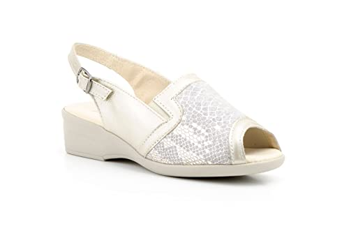 Conbuenpie Jam Cuña Con Licra Zapato Ancho Especial Mujer Color By FSwF7xpP
