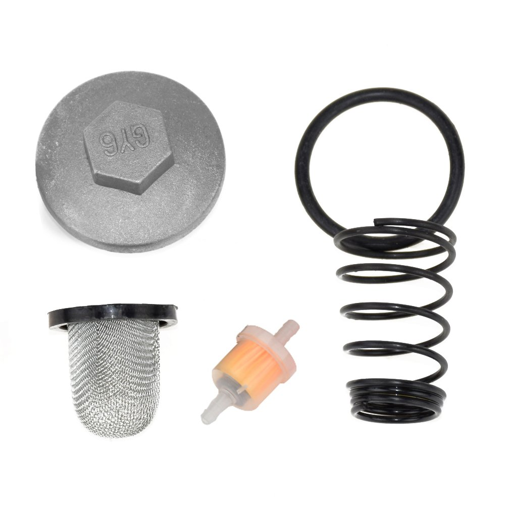 Oil Fuel Filter Oil Screen Cleaner Cap Drain Plug for GY6