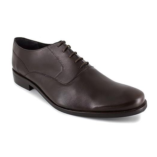 Richelieu J.Bradford Cuero Marrón - Color - Marrón, Talla Zapatos - 40