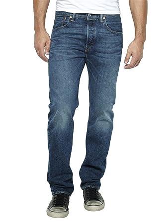 1759b07330d Mens Levi's Hook Wash 501 Regular Fit Jeans - 36W x 30L: Amazon.co ...