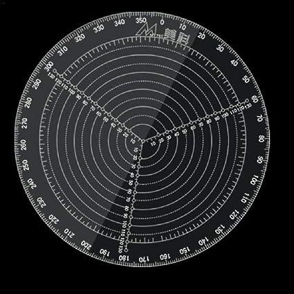 Tornio Lavoro Lavorazione del Legno per Tornitori chora Strumento di Ricerca del Centro,Bussola di Ricerca del Centro Rotonda di 20 Cm // 30 Cm Ciotole Diametro di Cerchi in Acrilico Trasparente