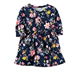 Carter's Baby Girls' Floral Jersey Dress