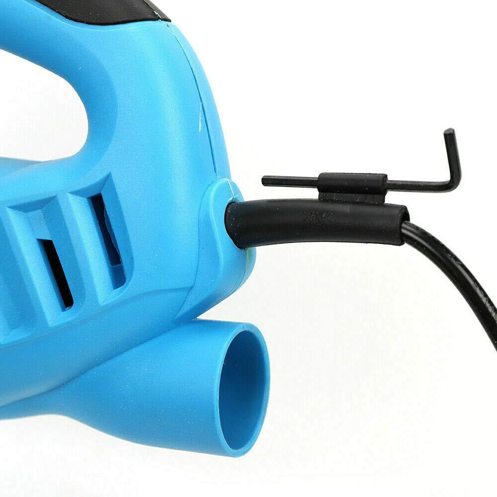 OUKANING Cortador de poliestireno 570W Cortador de alambre caliente el/éctrico para cortar espuma hoja de sierra