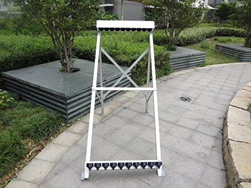 (manifold (10 holes) with bracket for solar collector (tube 58x1800mm) for solar water heater)