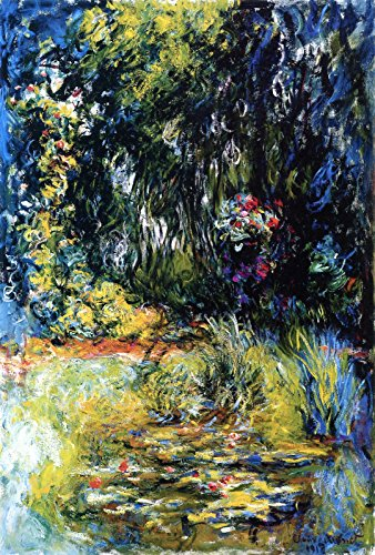 (Claude Oscar Monet A Corner of The Water Lily Pond Private Collection 30