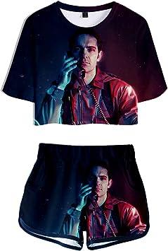 Camiseta y Pantalon La Casa de Papel, La Casa de Papel Conjunto ...