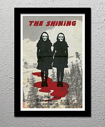 The Shining Jack Nicholson Stanley Kubrick Stephen King Horror Movie - Original Minimalist Art Poster ()