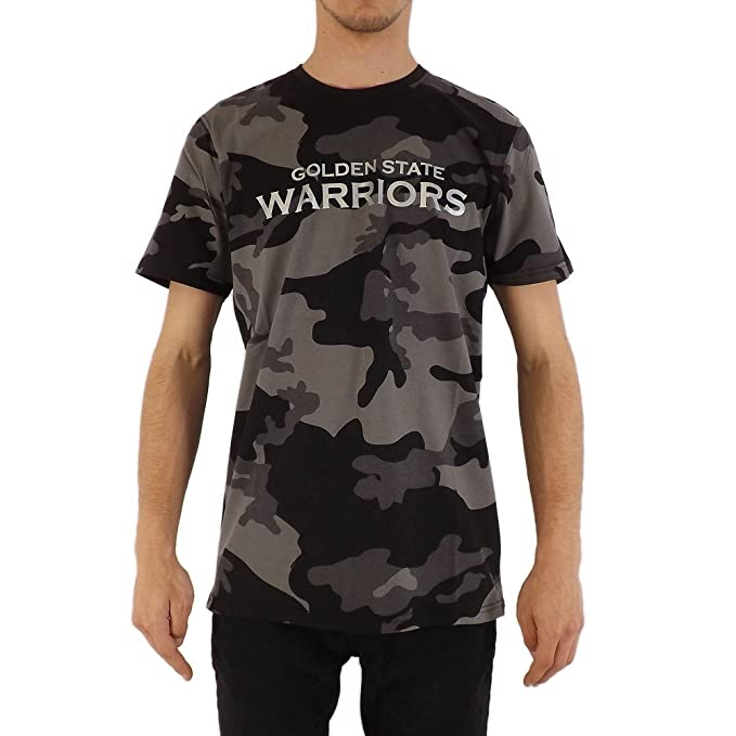 A NEW ERA Camiseta NBA Golden State Warriors Bng Graphic Negro/Gris/Multi Talla
